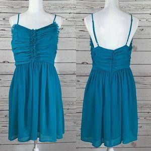 Doo Ri Macy's Impulse blue prom dress